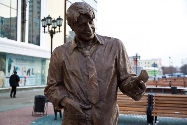 Скульптура «Гена Букин»