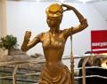 Скульптура «Мадемуазель» в ТРЦ Гринвич