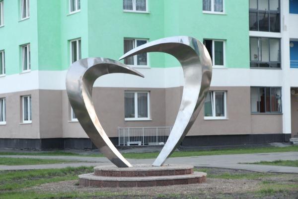 Скульптура «Сердце»
