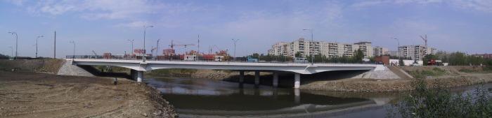 Мост через р. Исеть по ул. Фурманова-Ткачей