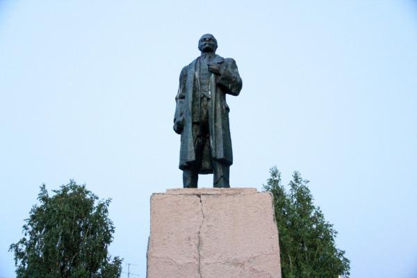 Памятник В.И. Ленину, пос. Кедровка