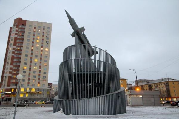 Памятник конструктору Л.В. Люльеву