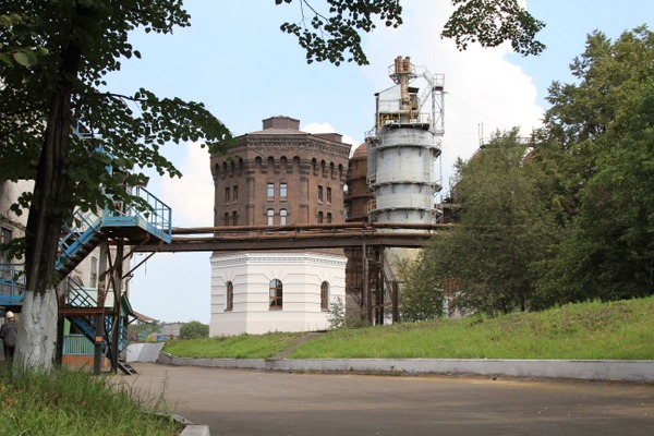 Водонапорная башня металлургического завода