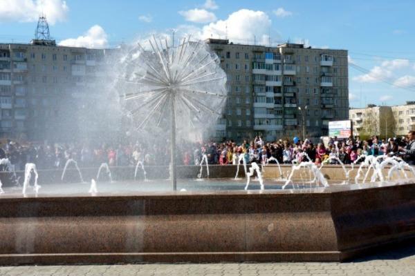 Фонтан на Преображенской площади