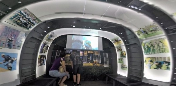 Музей внутри боевого вертолета