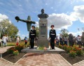 Мемориал в честь лётчика-героя Григория Речкалова