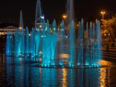 Светомузыкальный фонтан в Историческом сквере