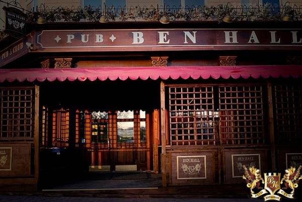 Клуб и паб «Ben Hall»
