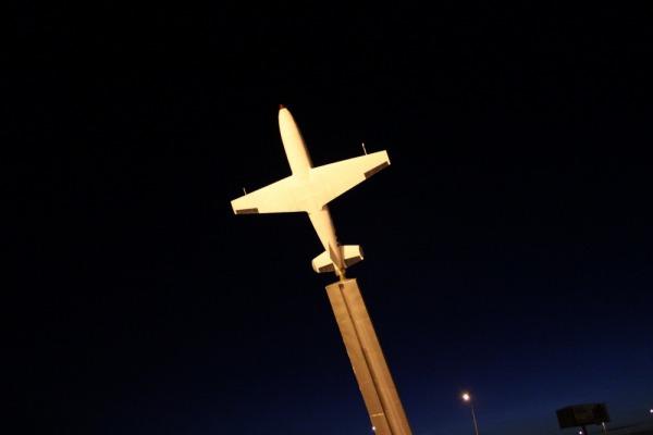 Памятник «Самолет БИ-1»
