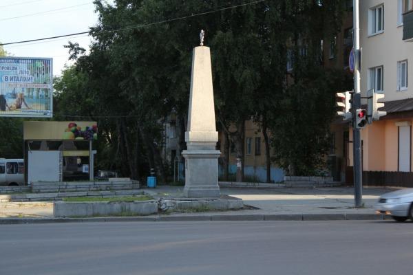 Два столба - старая граница Екатеринбурга
