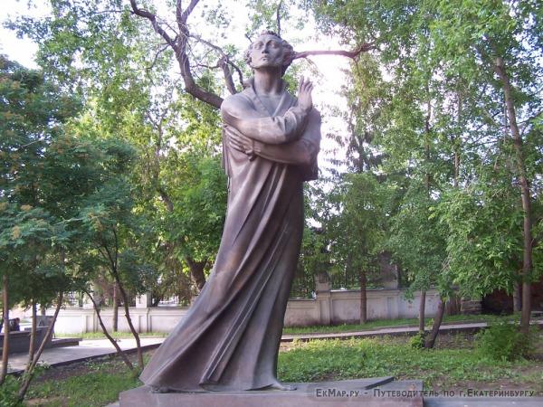 Памятник Пушкину в Литературном квартале