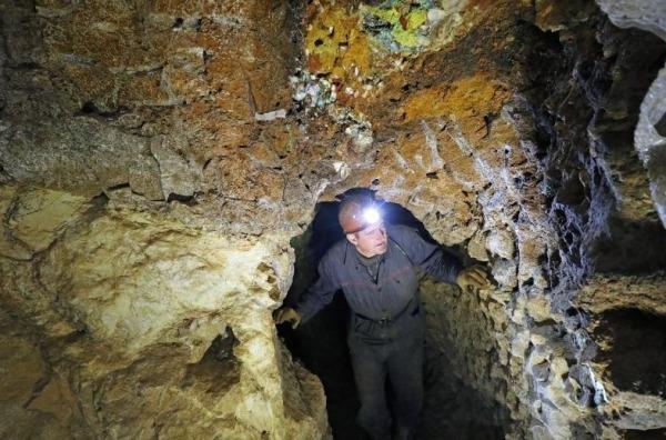 Подземный минералогический музей