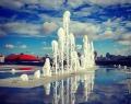 Поющий фонтан у Ельцин-центра