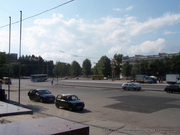 Площадь 1-й Пятилетки