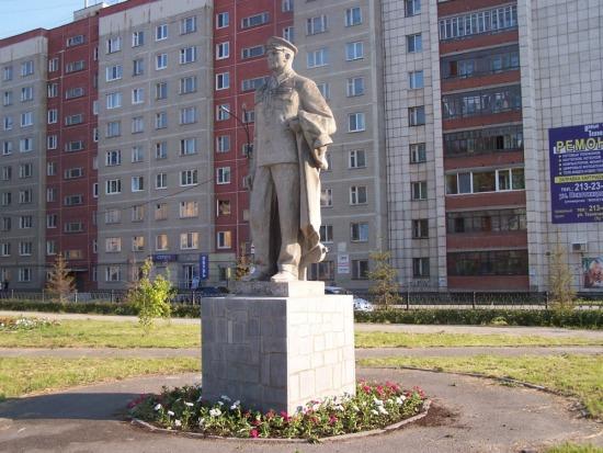 Памятник почетному стрелочнику