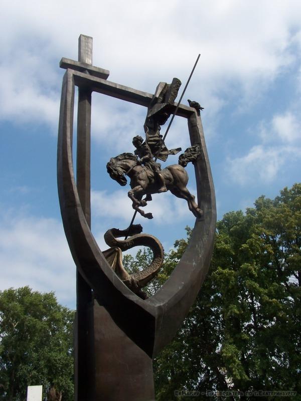 Памятник погибшим на боевом посту сотрудникам внутренних дел