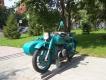 Мотоцикл на постаменте около УГИБДД