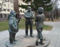 Памятник «Горожане. Разговор»