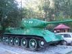 Памятник Танку T-34 около парка Победы