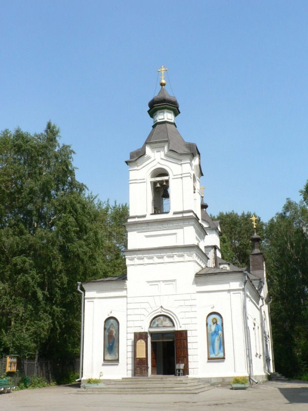 Храм во имя Всех Святых на Михайловском кладбище