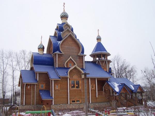 Храм в честь Касперовской иконы Пресвятой Богородицы