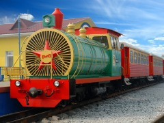 Детская железная дорога в ЦПКиО