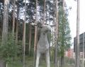 Скульптура «Лось»