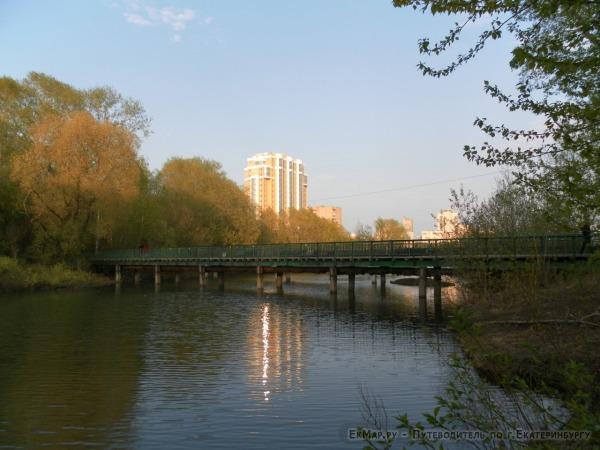 Пешеходный мост по ул.Гражданской