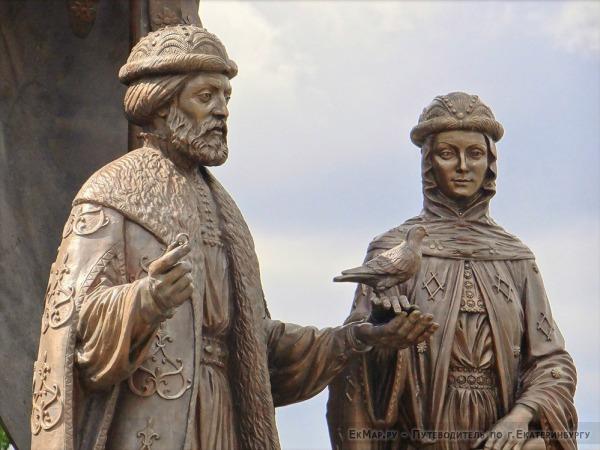Памятник Святым Благоверным князю Петру и княгине Февронии Муромских