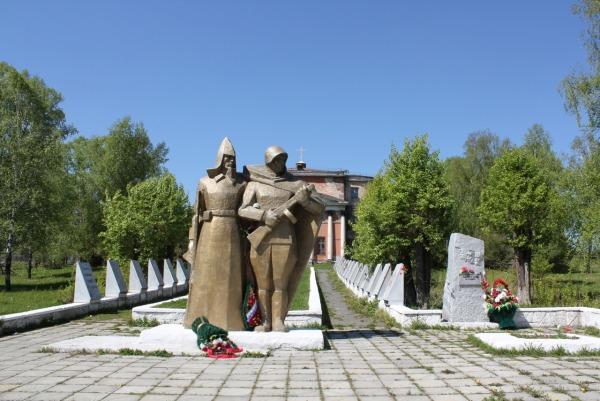 Мемориал Вечная память героям павшим в боях за родину