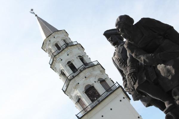 Памятник Петру I и Демидову