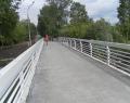 Пешеходный мост около Екатерининского