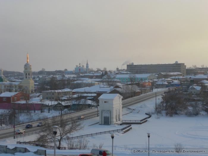 Панорама на город Каменск-Уральский