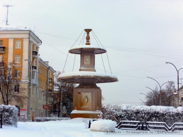 Фонтан на площади им. Горького