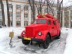 Памятник пожарной автолестнице