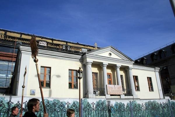 Храм во имя Святителя Иннокентия, Митрополита Московского