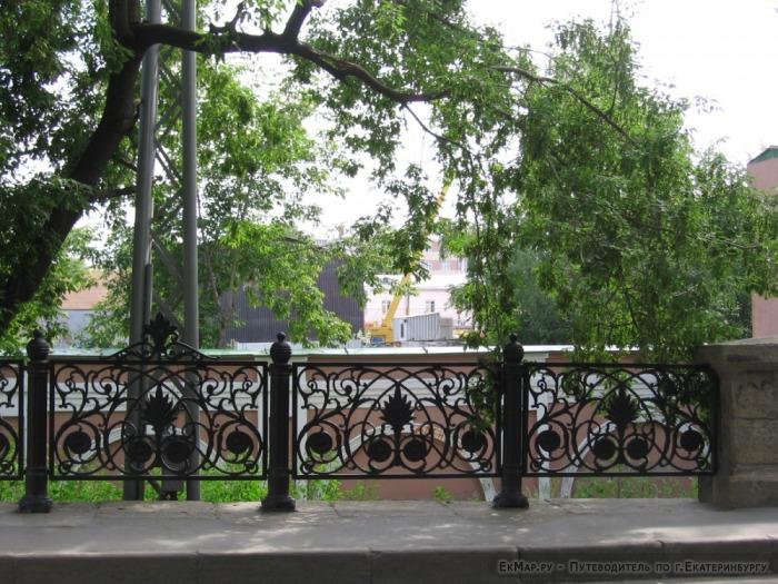 Ограда Царского моста