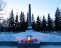 Вечный огонь и Братская могила коммунаров