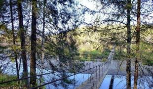 Выходные на природе или поездка в природный парк «Оленьи ручьи»